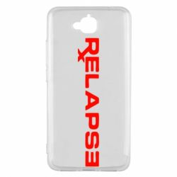 Чехол для Huawei Y6 Pro Relapse Eminem - FatLine