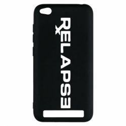 Чехол для Xiaomi Redmi 5a Relapse Eminem - FatLine