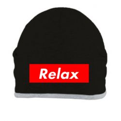 Шапка Relax red