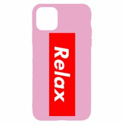 Чехол для iPhone 11 Pro Max Relax red