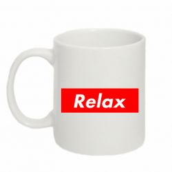 Кружка 320ml Relax red