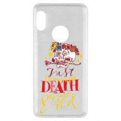 Чехол для Xiaomi Redmi Note 5 Remember death is not the end