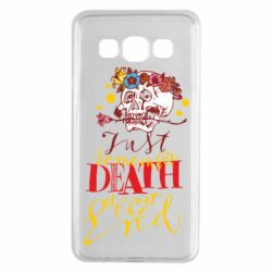 Чехол для Samsung A3 2015 Remember death is not the end