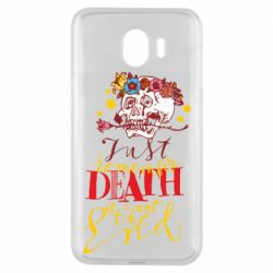 Чехол для Samsung J4 Remember death is not the end