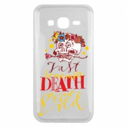 Чехол для Samsung J5 2015 Remember death is not the end