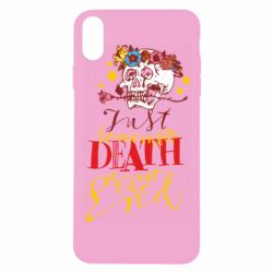 Чехол для iPhone Xs Max Remember death is not the end