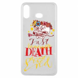 Чехол для Samsung A6s Remember death is not the end