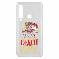 Чехол для Samsung A9 2018 Remember death is not the end
