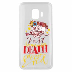 Чехол для Samsung J2 Core Remember death is not the end