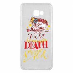 Чехол для Samsung J4 Plus 2018 Remember death is not the end