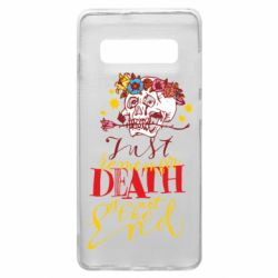 Чехол для Samsung S10+ Remember death is not the end