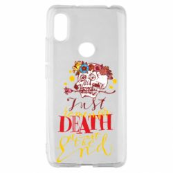 Чехол для Xiaomi Redmi S2 Remember death is not the end