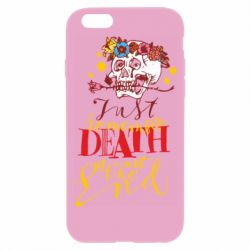 Чехол для iPhone 6/6S Remember death is not the end