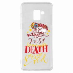 Чехол для Samsung A8+ 2018 Remember death is not the end