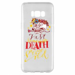 Чехол для Samsung S8+ Remember death is not the end