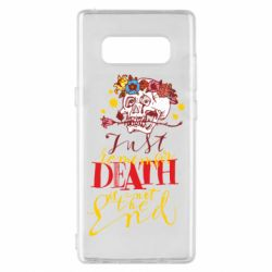 Чехол для Samsung Note 8 Remember death is not the end