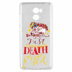 Чехол для Xiaomi Redmi 4 Remember death is not the end