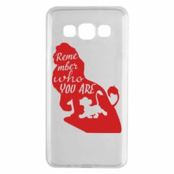 Чехол для Samsung A3 2015 Remember who you are