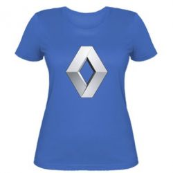 Женская футболка Renault Logo