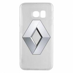 Чохол для Samsung S6 EDGE Renault Logo