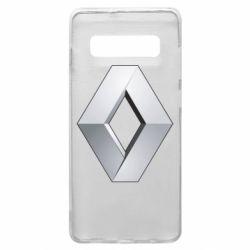Чохол для Samsung S10+ Renault Logo
