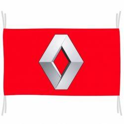 Прапор Renault Logo