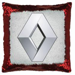 Подушка-хамелеон Renault Logo