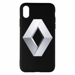 Чохол для iPhone X/Xs Renault Logo