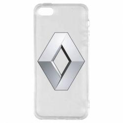 Чохол для iphone 5/5S/SE Renault Logo