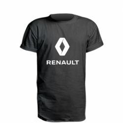Подовжена футболка Renault logotip