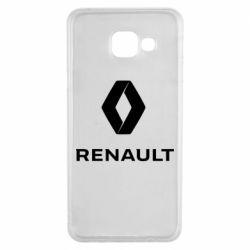 Чохол для Samsung A3 2016 Renault logotip