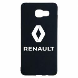 Чохол для Samsung A5 2016 Renault logotip