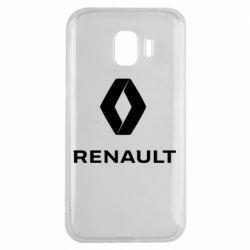 Чохол для Samsung J2 2018 Renault logotip