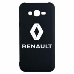 Чохол для Samsung J7 2015 Renault logotip