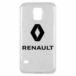 Чохол для Samsung S5 Renault logotip