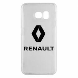 Чохол для Samsung S6 EDGE Renault logotip