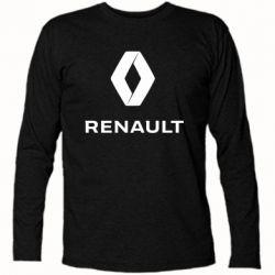 Футболка з довгим рукавом Renault logotip