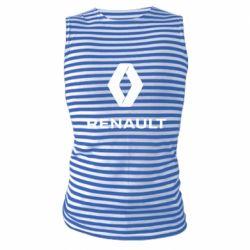 Майка-тільняшка Renault logotip