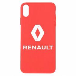 Чохол для iPhone Xs Max Renault logotip