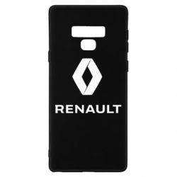 Чохол для Samsung Note 9 Renault logotip