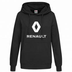 Толстовка жіноча Renault logotip