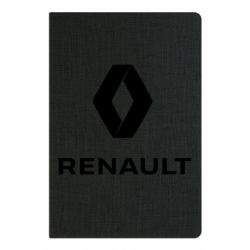 Блокнот А5 Renault logotip
