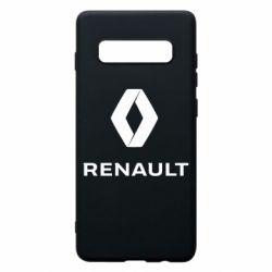 Чохол для Samsung S10+ Renault logotip