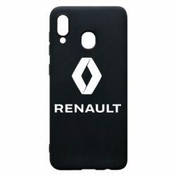 Чохол для Samsung A20 Renault logotip