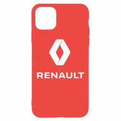 Чохол для iPhone 11 Pro Max Renault logotip
