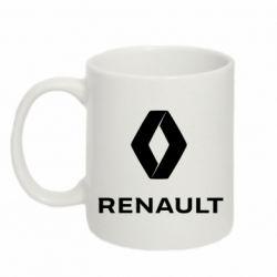 Кружка 320ml Renault logotip