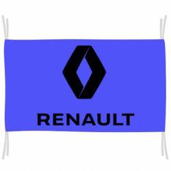 Прапор Renault logotip