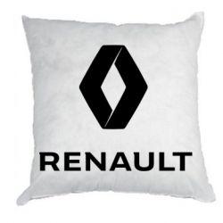 Подушка Renault logotip