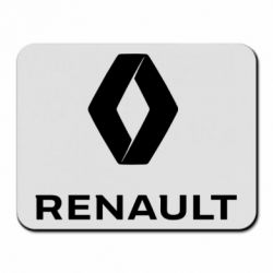 Килимок для миші Renault logotip