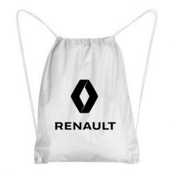 Рюкзак-мішок Renault logotip